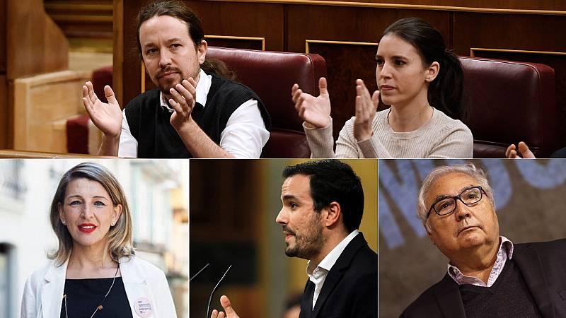 Quiénes serán los ministros de Unidas Podemos en el gobierno de coalición
