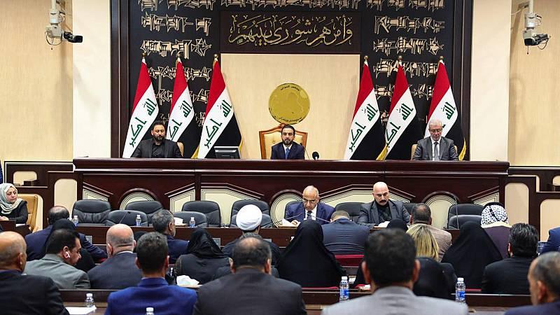 El Parlamento de Irak pide la salida de las tropas estadounidenses del país