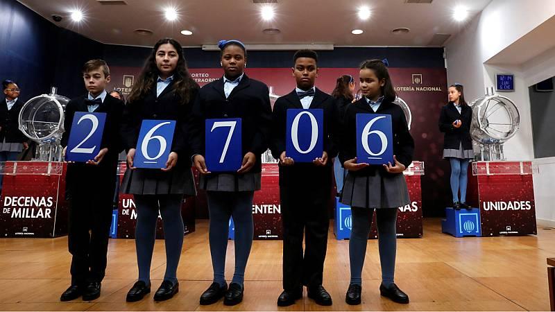 El 26.706, tercer premio del Sorteo Extraordinario del Niño