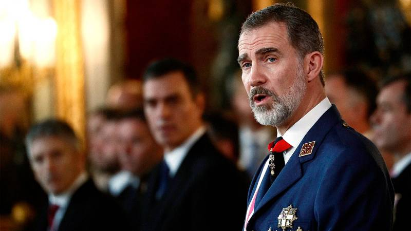 Discurso íntegro de Felipe VI en la Pascua Militar 2020