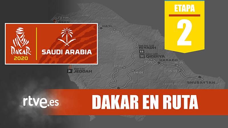 Resmen de la segunda etapa del Dakar 2020