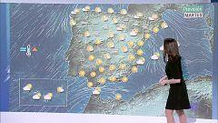 Nieblas persistentes en la meseta norte y en el valle del Ebro