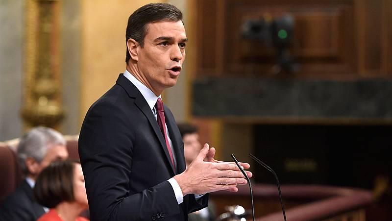"""Sánchez aboga por buscar consensos y abandonar la """"atmósfera de crispación"""" en favor de la convivencia"""