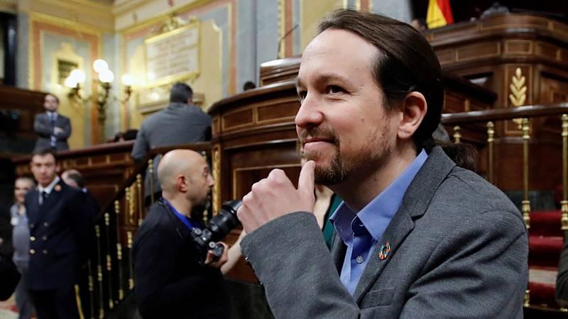 """Iglesias pide a Sánchez su """"mejor tono"""" y """"firmeza democrática"""" ante """"intolerantes"""" y """"provocadores"""""""