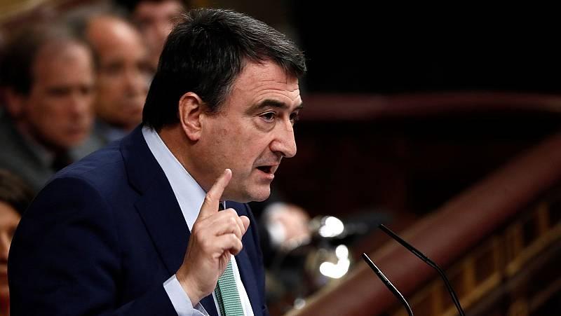 """Aitor Esteban (PNV): """"Votaremos sí para salir de la profunda crisis que vive el Estado, forjar acuerdos y hacer política"""""""