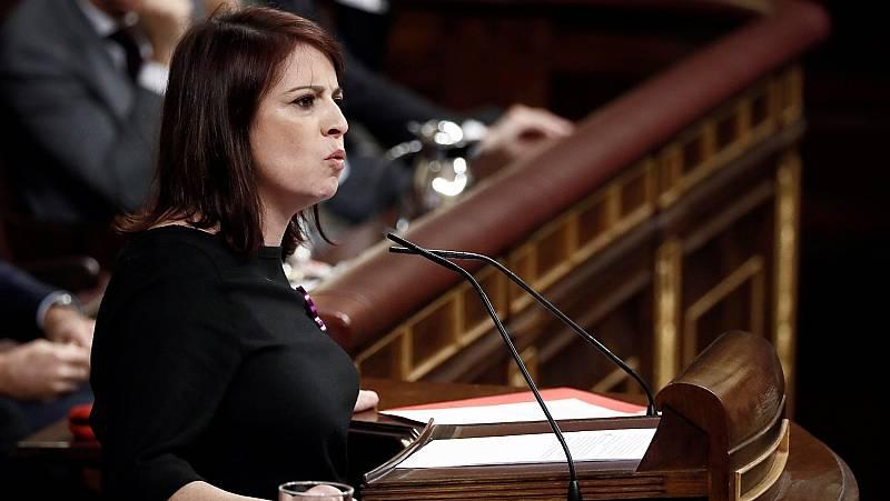 """Adriana Lastra (PSOE): """"Levantaremos una legislatura del diálogo, la confianza y el progreso"""""""