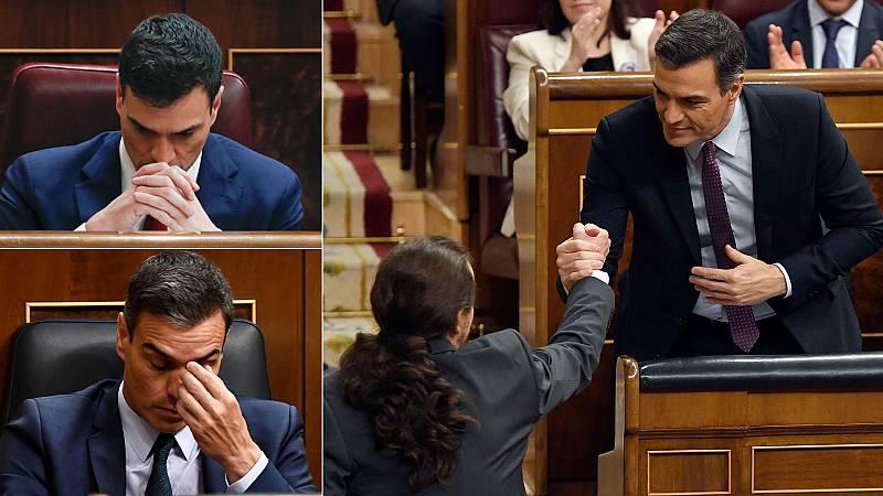 Pedro Sánchez, investido a la tercera como presidente del Gobierno