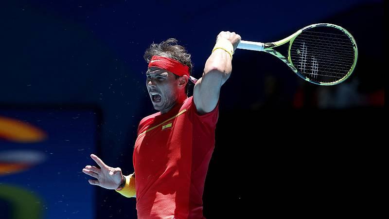 Tenis - ATP Cup 2º partido individual: España - Japón - ver ahora