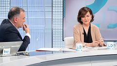 "Carmen Calvo: ""Al PP le va quedando poco de ser un partido de Estado"""