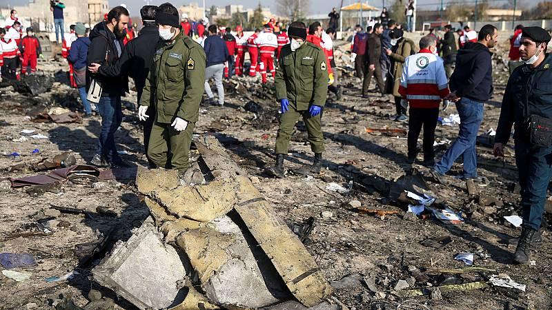 Mueren 176 personas en un accidente de un avión ucraniano en Irán