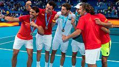 España, a cuartos de la ATP Cup tras otro pleno ante Japón
