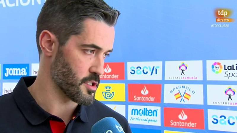 """Los jugadores de la selección española de balonmano masculino aseguran que los Hispanos viajan al Europeo """"con ganas""""."""