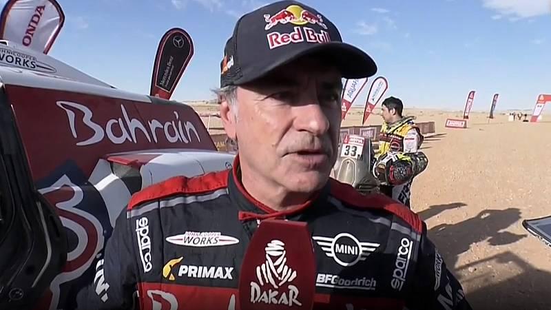"""Carlos Sainz: """"Muy pocas veces había hecho una etapa en el Dakar tan difícil"""""""