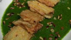 Aquí la Tierra - Una rica receta de acelgas con queso y jamón