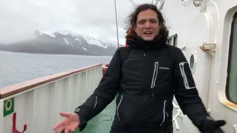 Radio Nacional en la Antártida