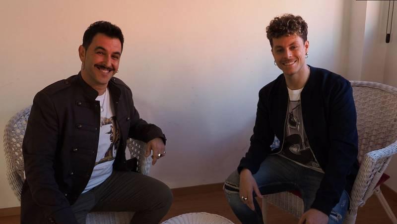 Cristian y Mario, Danza Urbana en la Academia de Operación Triunfo 2020