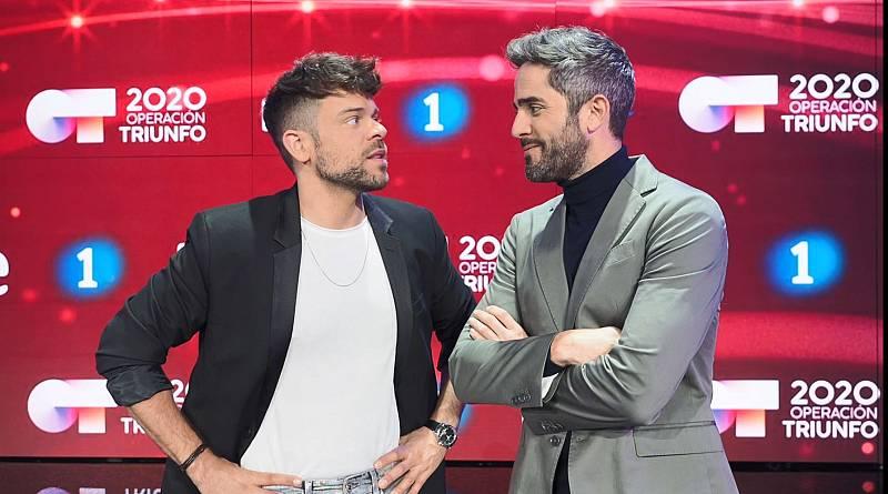 Ricky y Roberto, presentadores de El Chat y la gala de OT 2020 respectivamente