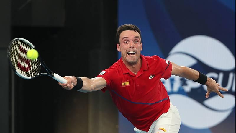 Tenis - ATP Cup 1/4 Final. 1r. partido individual: España - Bélgica - ver ahora