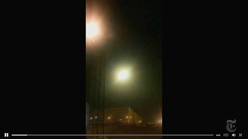 Un vídeo demostraría el derribo del avión ucraniano por un misil