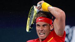 Tenis - ATP Cup 1/4 Final. 2º. partido individual: España - Bélgica