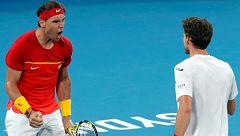 España logra una remontada épica en el dobles ante Bélgica para meterse en 'semis'