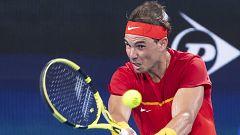 Tenis - ATP Cup 1/4 Final. 3r. partido dobles: España - Bélgica