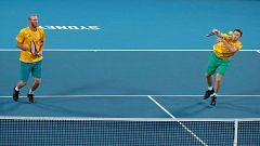Tenis - ATP Cup 2ª Semifinal. 3r. partido dobles