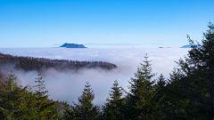 Nieblas persistentes en el valle del Duero