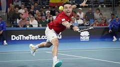 Tenis - ATP Cup. Final 1r. partido individual: Serbia - España
