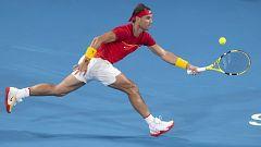 Tenis - ATP Cup. Final 2r. partido individual: Serbia - España