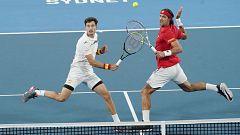 Tenis - ATP Cup. Final 3r. partido dobles: Serbia - España