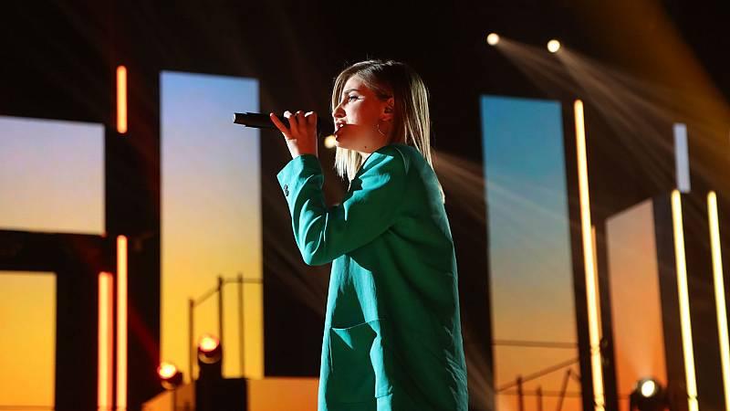 """Samantha canta """"Que tinguem sort"""" en la Gala 0 de OT 2020"""
