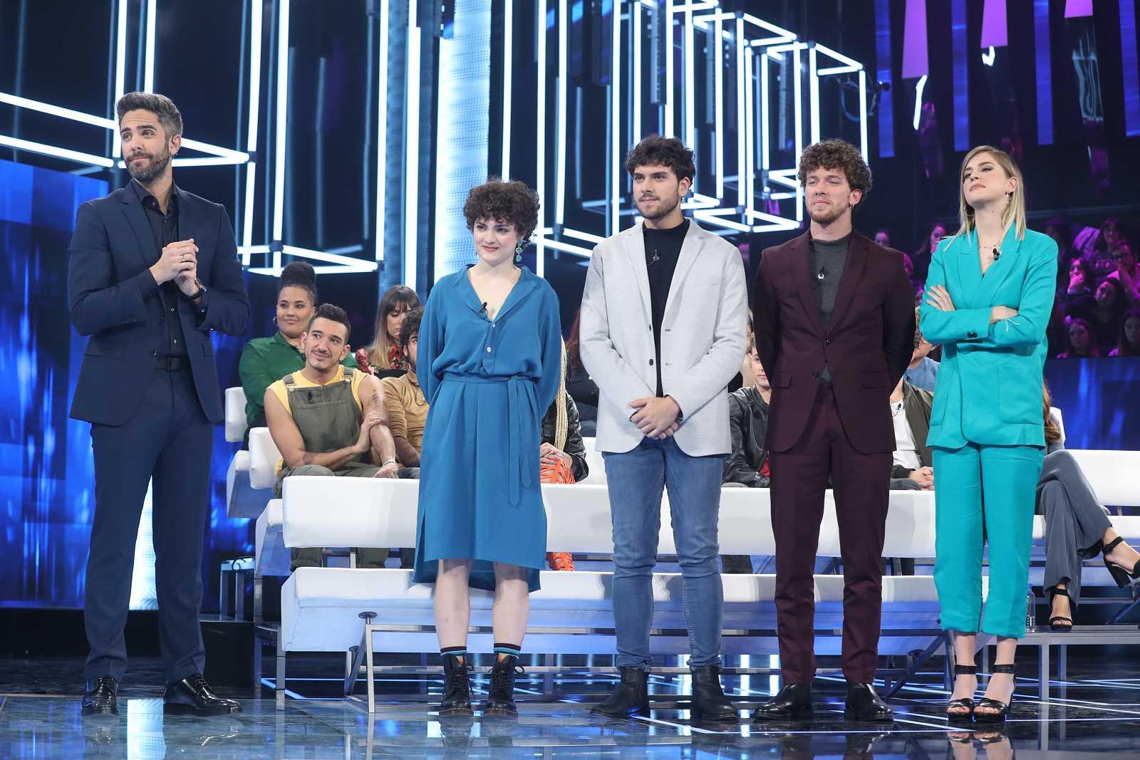 Anne, Javy, Jesús y Samantha, el último grupo que pasa a la Gala 0 de Operación Triunfo 2020