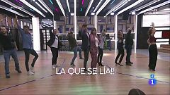 """Operación Triunfo - Los profesores interpretan """"La que se lía"""" en El Chat"""