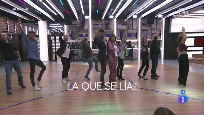 """Los profesores interpretan """"La que se lía"""" en El Chat de la Gala 0 de Operación Triunfo 2020"""