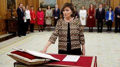 La Mañana - Carmen Calvo: declaraciones de la nueva vicepresidenta del Gobierno