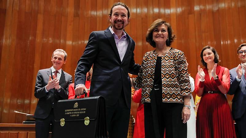 """Iglesias coincide con Sánchez en que el Gobierno """"tendrá muchas voces pero una sola palabra"""""""