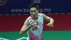 Bádminton - Malaysia Masters. Final individual Masculina: Kento Momota - Viktor Axelsen