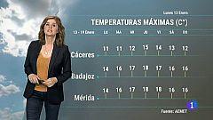El tiempo en Extremadura - 13/01/20