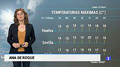 El tiempo en Andalucía - 13/01/2020