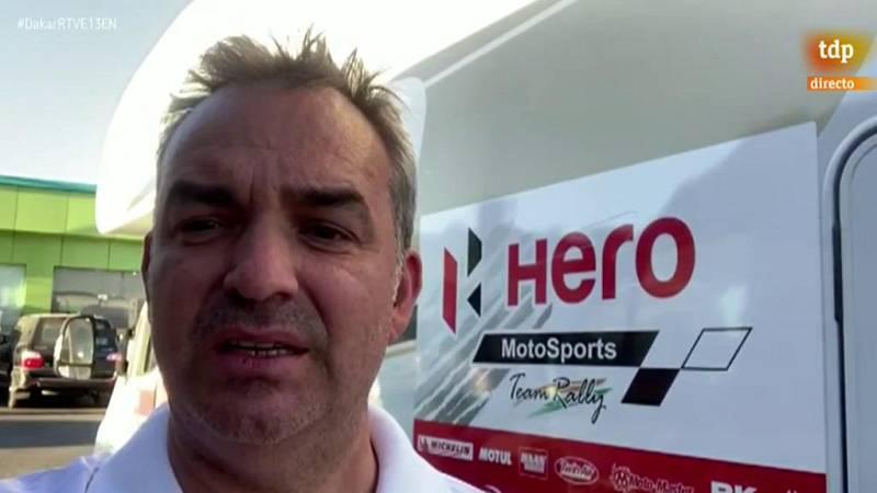 El equipo Hero se retira del Dakar en homenaje a Gonçalves