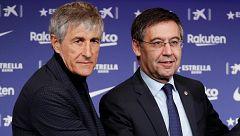 """Bartomeu, sobre el cese de Valverde: """"Las cosas eran muy mejorables, necesitábamos un impulso"""""""