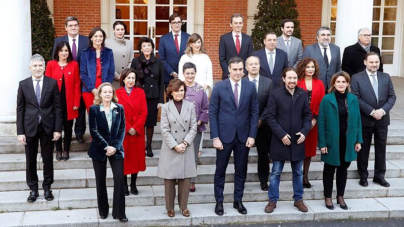 Así ha sido la primera reunión del Consejo de Ministros