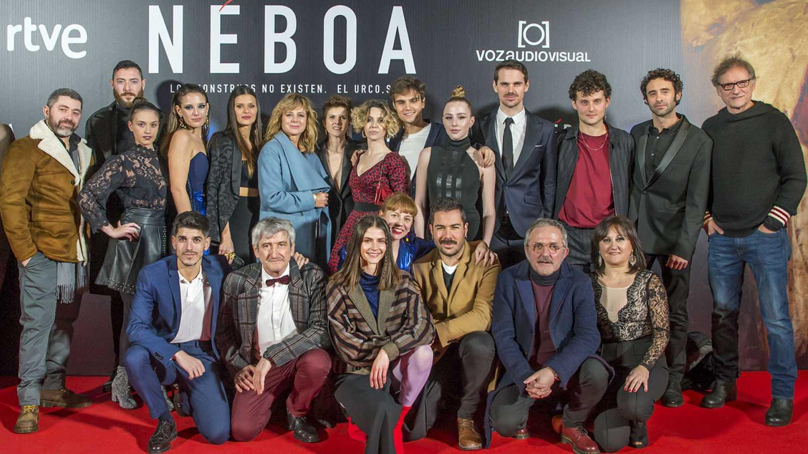 Los actores te cuentan por qué hay que ver Néboa