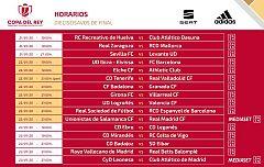 Ibiza-Barça, Logroñés-Valencia, Cultural-Atlético y Unionistas-Madrid, platos fuertes de dieciseisavos