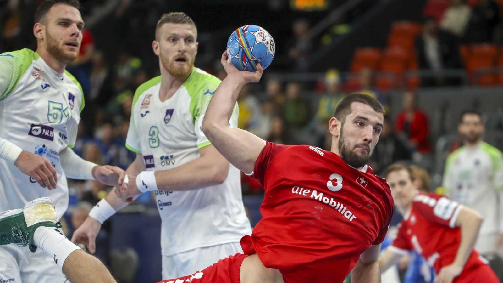 Balonmano - Campeonato de Europa Masculino: Suiza - Eslovenia - ver ahora