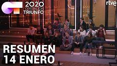 Operación Triunfo 2020 - Resumen diario de OT 14/01/2020