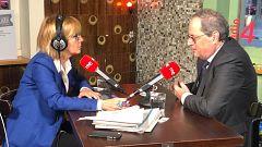 """Torra quiere ver """"si hay voluntad real"""" en Sánchez de solucionar el """"conflicto catalán"""""""