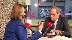 Entrevista de Quim Torra en Ràdio 4 de RNE