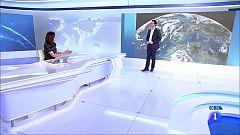 Lluvia persistente al oeste de Galicia y heladas en el este del país